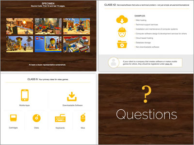 >Powerpoint deck slide layout design